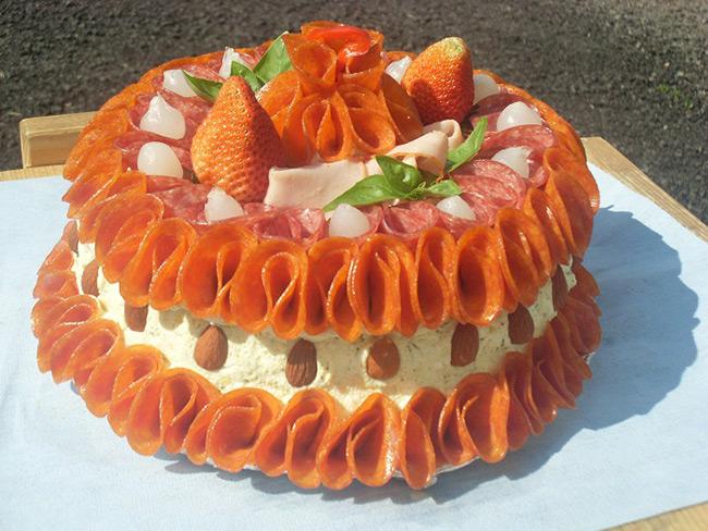 Sýrový dort Farma pod Lipou